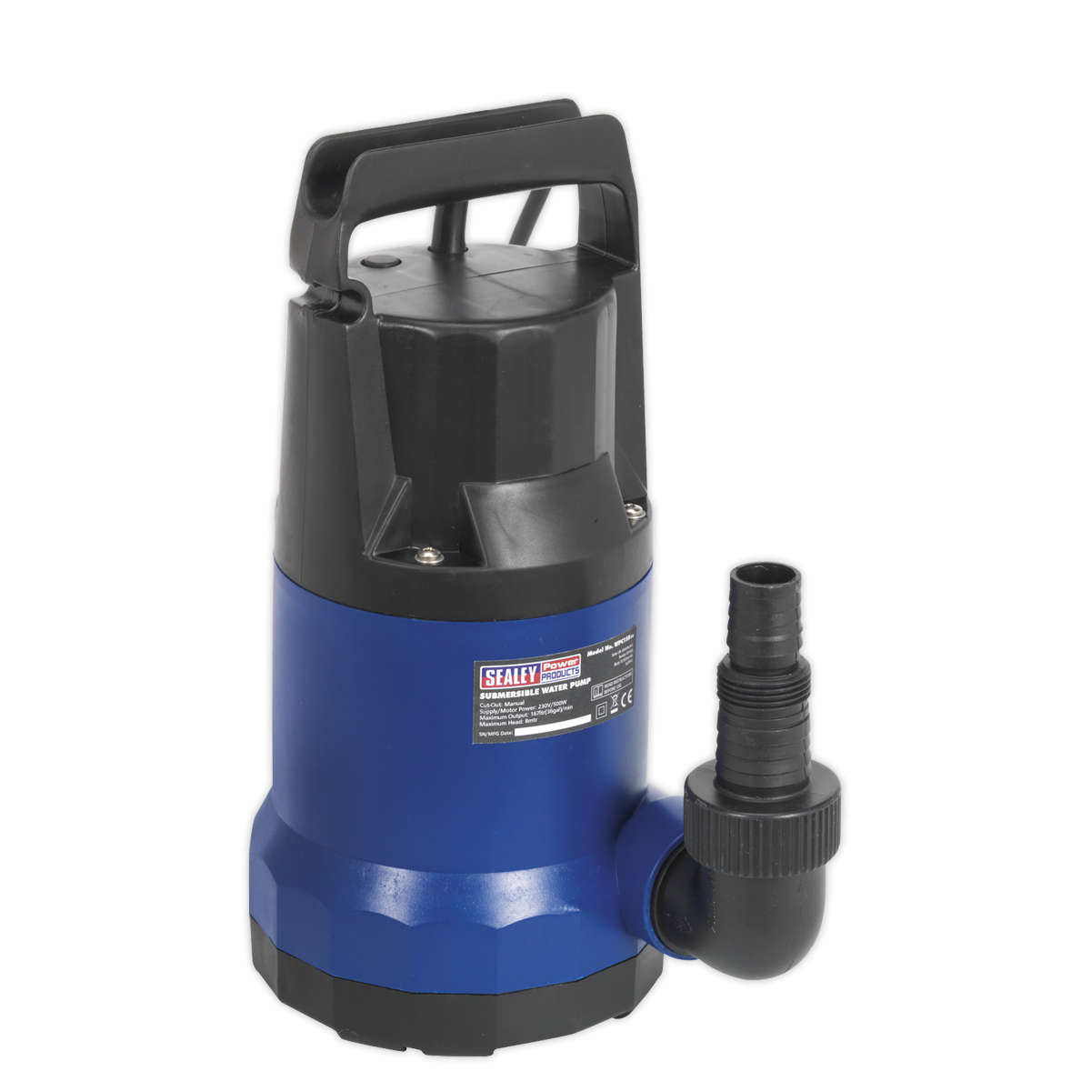 Submersible Water Pump 167ltr min 230V   SEALEY WPC150