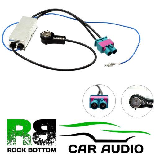Mercedes Benz E Class 2003-2009 Car Radio Dual Fakra Antenna Cable AAN2134-3