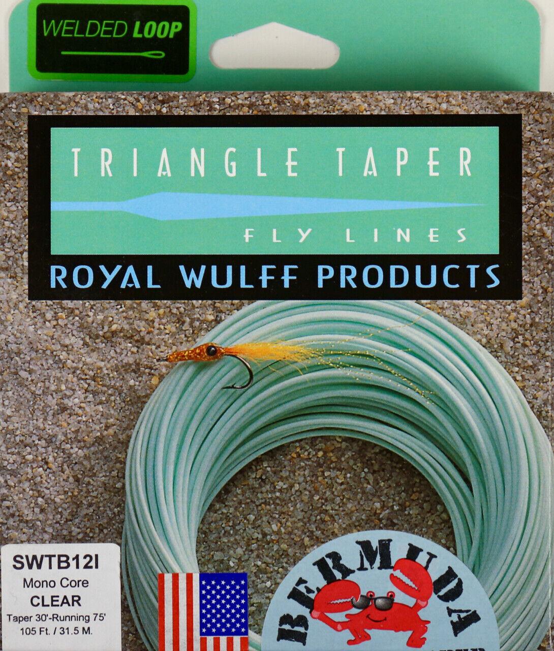 Royal Wulff Bermuda Triangle Taper Saltwater Intermediate 12 WT Fly Line SWTB12I