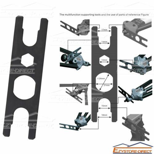 Rivnut Gun Carry Case 330mm handle Nutsert Tool Kit Rivet Nut Mandrels M3 to M10
