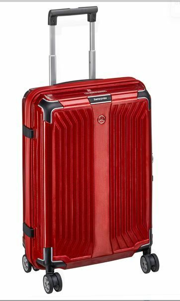 Lite Scatola 55 Rosso By Samsonite per Mercedes Benz rossoolo Valigia Spinner