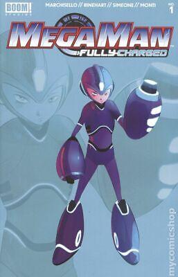Mega Man Fully Charged 1H Simeone Variant 2nd Printing NM 2020 Stock Image