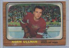 1966-67 O-Pee-Chee Hockey #52 Norn Ullman Detroit Red Wings VG