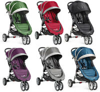 Baby Jogger City Mini Compact Lightweight 3-wheel Stroller - 6 Color Choice