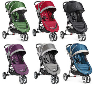 Baby-Jogger-City-Mini-Compact-Lightweight-3-wheel-Stroller-NEW-6-COLOR-CHOICES