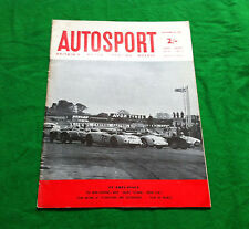 Autosport September 22nd 1961 *New Mini Cooper*