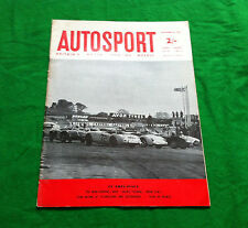 Autosport September 22nd 1961 *New Mini Cooper*