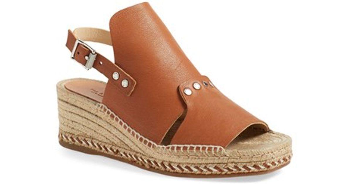 RAG & BONE SAYRE LI - ESPADRILLE Wedge Sandals - LI Size 39.5 - NEW 8db8f7