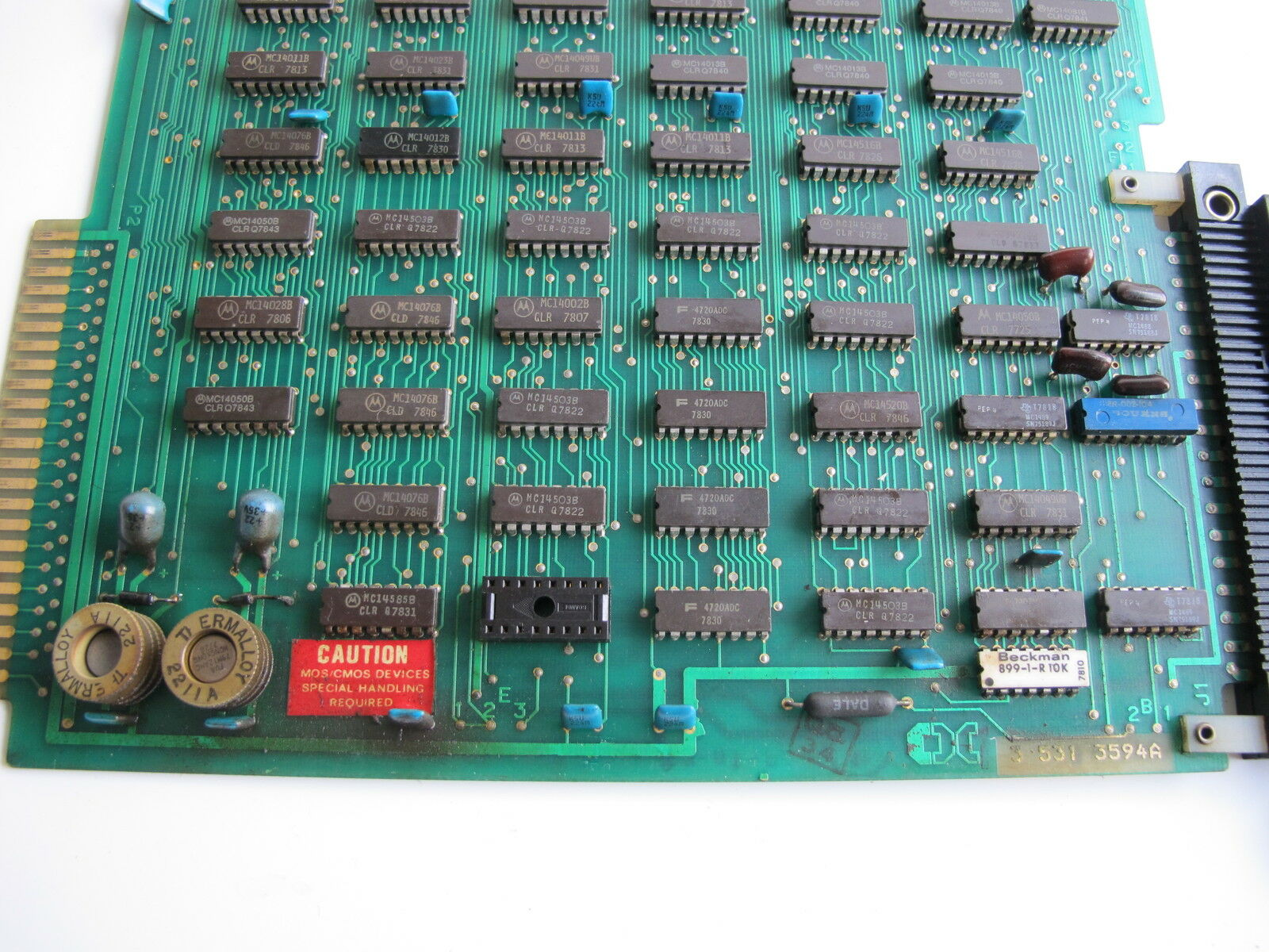 Cincinnati Milacron 3-531-3594A placa de circuito, circuito, circuito, Cincinnati Milacron 3 531 3594A 789ece