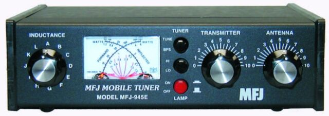 MFJ 945E - New - Tuner covers HF and 6 meters