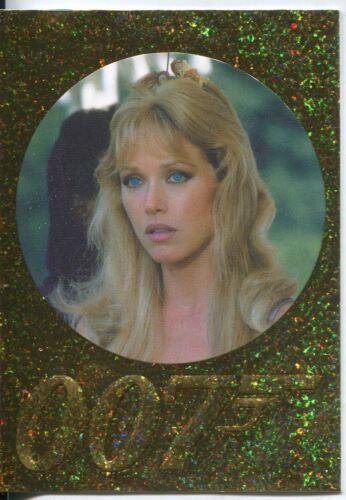 James Bond 50th Anniversary Sparkle Foil Parallel Base Card #121