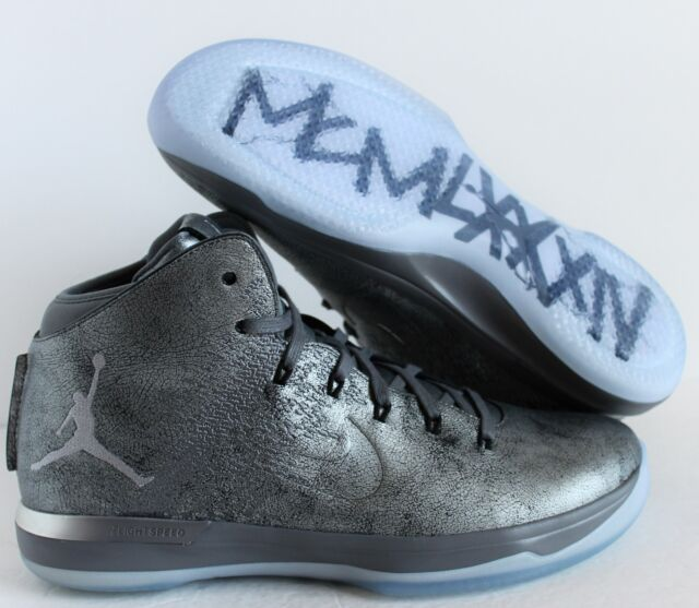 6a82127f66855c Nike Air Jordan XXXI 31 PRM Battle Grey Cool Grey-wolf Grey Sz 14 ...