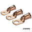 Details about  /Copper Wire Ring Terminal Electrical Crimp Battery Welding Cable Lug Connectors