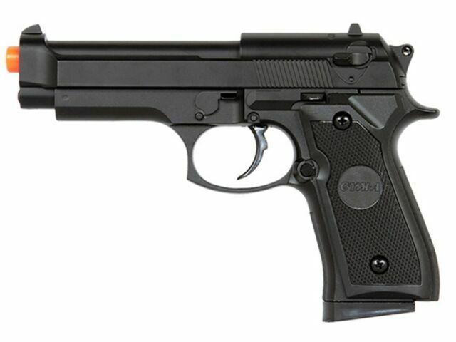 Uk Arms M9 Airsoft Gun Metal Beretta M92 Black Spring Pistol Real Scale P818 For Sale Online Ebay