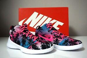 hot sale online 37378 3f864 Image is loading Nike-Hyperfr3sh-QS-Blue-Lagoon-Pink-Blast-Palm-