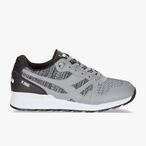 Diadora-N9000-MODERNA-sneakers-uomo-scarpe-grigie-leggere