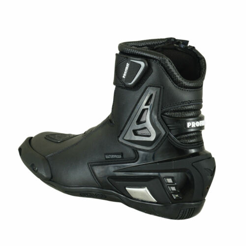 Profirst Waterproof Motorcycle Shoes Boots Genuine Leather Motorcycle Shoes 39-48