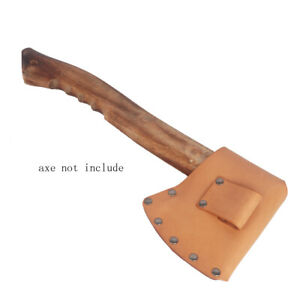Tourbon-Leather-Axe-Head-Holster-Hatchet-Cover-Blade-Protector-Hunting-Survival