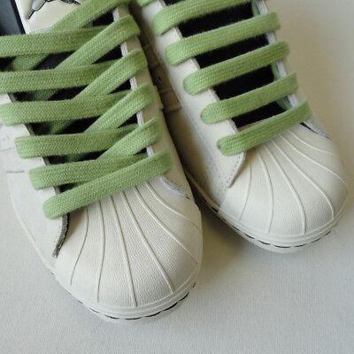 Calidad Vintage Shoe Encaje Algodón Blanco Negro 12 Colores Bboy Laces Cordones