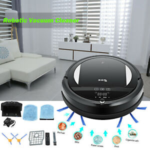 Sdg Vacuum Cleaner Robot Robotic Smart Cleaning Automatic Black Usa Stock Ebay