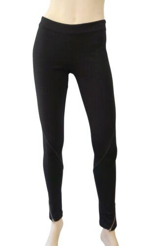 Leggings ed nuovi edera con nero jersey elasticizzato iv in zip FnqrFUfw