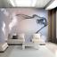 3D-Abstract-Smoke-Shape-Self-adhesive-Wall-Mural-Wallpaper-Photo-Painting-Decor miniature 3