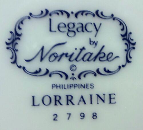 NORITAKE china LORRAINE 2798 pattern 5-piece Place Setting