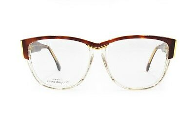 Laura Biagiotti Frame Italy Mod. V101 Ladies Wayfarer Restyle, Nos 1980s