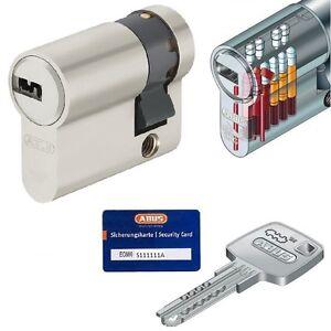 30//10 abus ec660 cylindre profil cylindre cylindre de verrouillage serrures