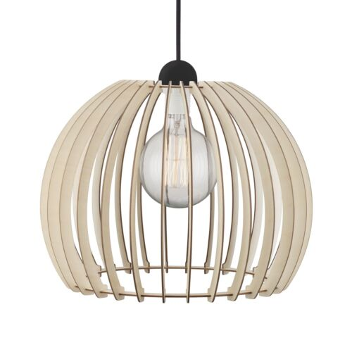 DEL 8,3 w CHINO 40 Nordlux bois pendule Lampe Pendule Suspendu Lampe Variateur warmweiss