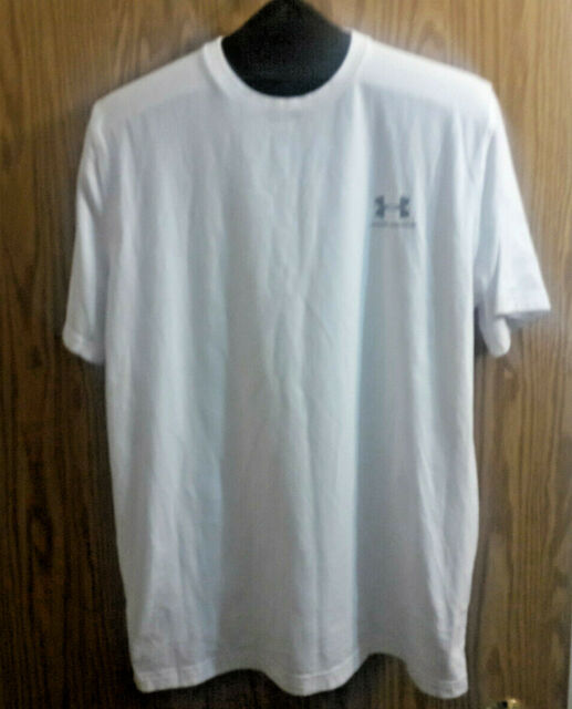 LARGE NWT UNDER ARMOUR HEAT GEAR MEN/'S TWIST LOOSE FIT S//S T.SHIRT-SMALL