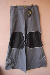 Star-Pants-Nylon-Grey-Black-Hose-von-Sektor-1-Groesse-26-Gothic-Cyber-Techno