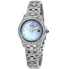 Citizen EW1220-55D Women's Slihouette White Dial Eco-drive Watch