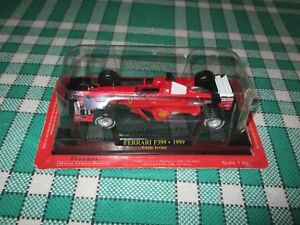 M0272 Modellino auto F1 COLLECTION 1:43-1999 Ferrari F399 #4 Eddie Irvine