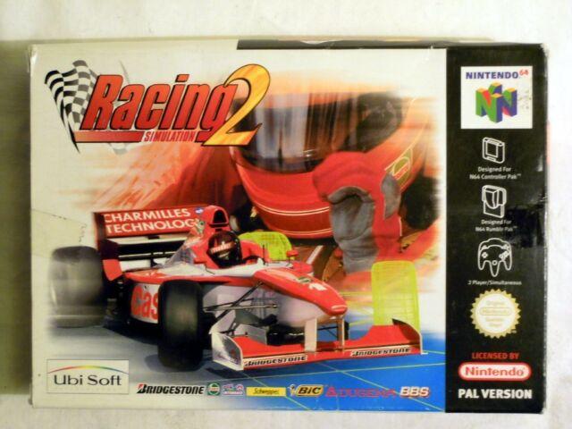 Ubi Soft: Racing 2 Simulation für Nintendo 64 für 1-2 Spieler, NEU & ungeöffnet