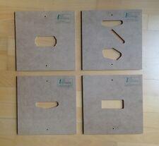 Schablonen Templates f. Pickups w.b.Fender Gibson Ibanez Les Paul Telecaster