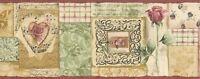 Victorian Charm Collage Wallpaper Border