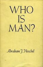 Who Is Man? by Abraham Joshua Heschel (1965, Paperback, Reprint)