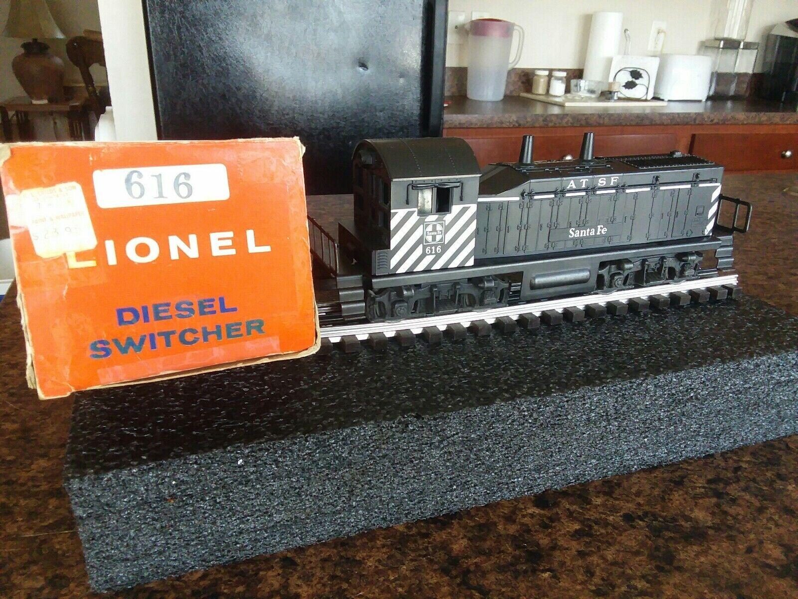 Del dopo guerra Lionel 616 BABBO NATALE PRIMA EDIZIONE Switcher NW2 Diesel, C7 Ex con SCATOLA articolo   218