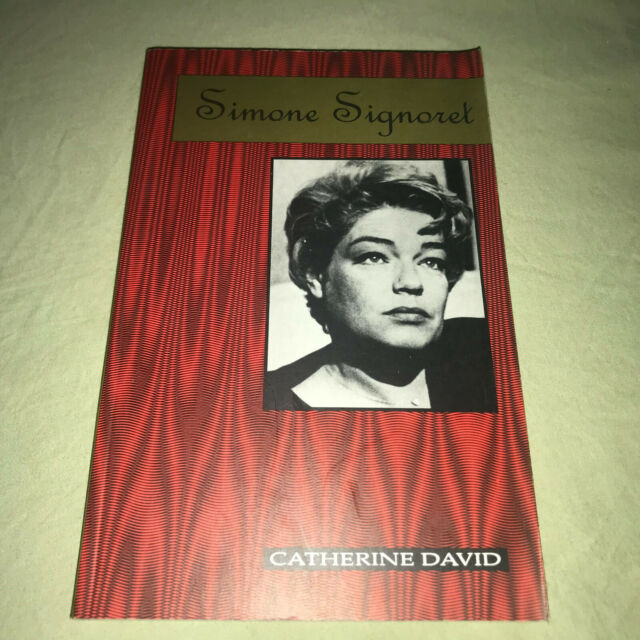 Simone Signoret by Catherine David  French Actress Biography Paperback Book