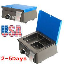 Dental 3 Well Analog Wax Melting Dipping Pot Heater Melter Temperature Control
