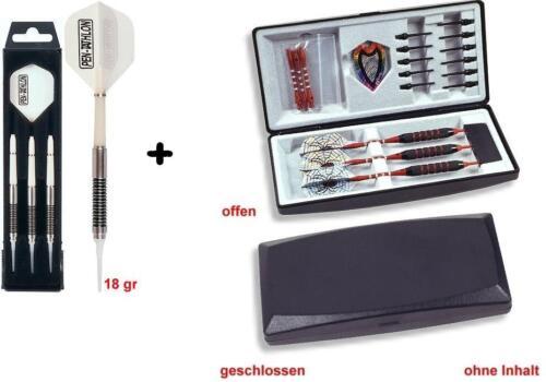 3er Set 1x Dartbox GRATIS SET 1x Softdart Soft Dart Pfeile Karella KS-4 18 g