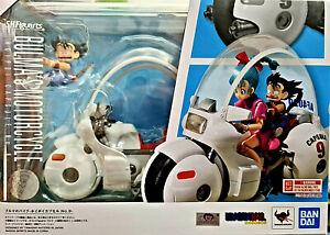 Bulma's Motorcycle Son Goku Bimbo Dragon Ball   Bandai SH Figuarts - Nuova