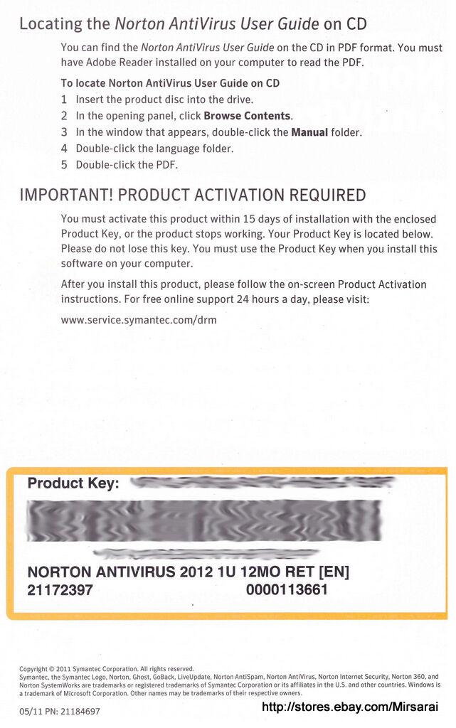 free norton internet security subscription