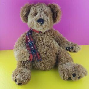 Russ-Berrie-Benton-The-Bon-Ton-Bear-Plush-Stuffed-Animal-1999-Large-Vintage-19-034