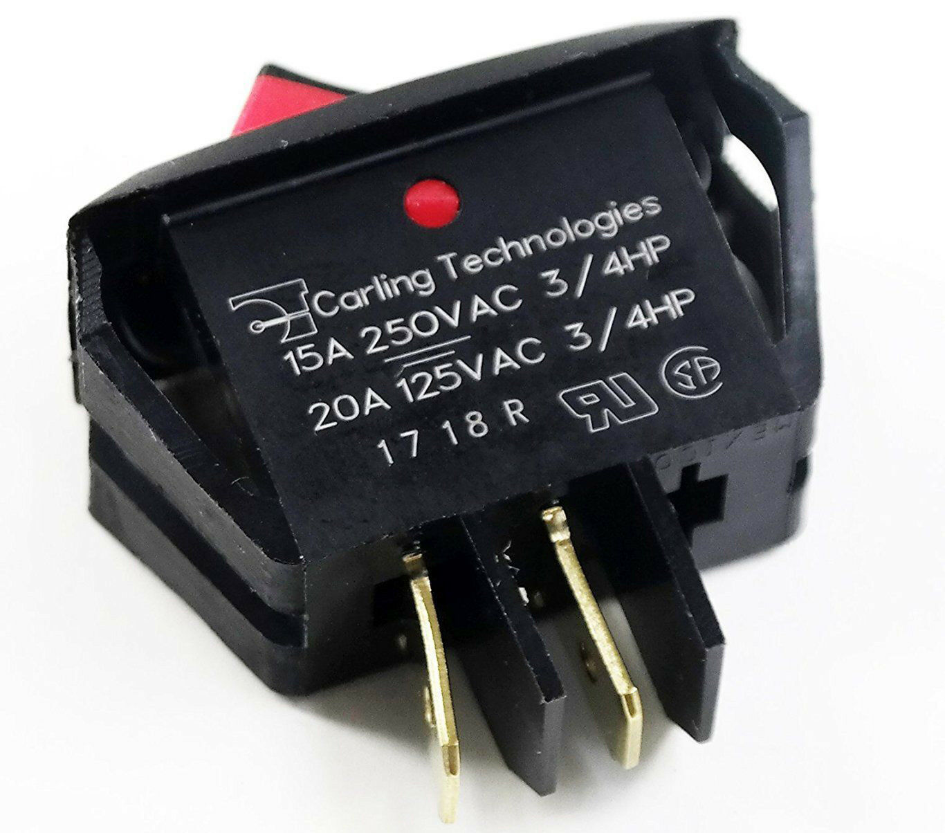 Carling Technologies Rsca201 Vb B 9 V Switch Rocker Spst 20a 125v Ebay Offon Switches Electrical Products Norton Secured Powered By Verisign