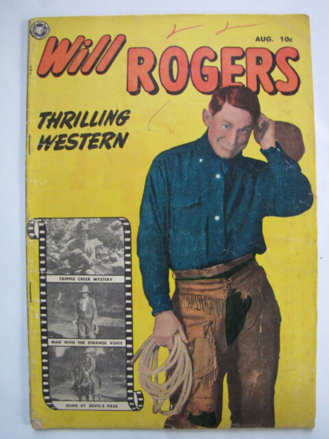 7e68320b6 Will Rogers Western #2 (Aug 1950, Fox) for sale online | eBay