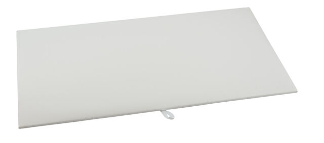 White Leatherette  Display Pad//Showboard for our Full Size Trays//Cases BD931LW