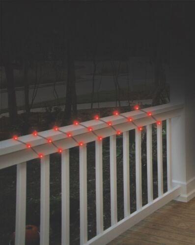 50 Solar Powered LED String Lights 25ft Outdoor Decorative Umbrella Trees Bushes