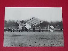 PHOTO AVIATION NOVEMBRE 1907 DEMOISELLE SANTOS-DUMONT PIONNIERS AEROPLANE
